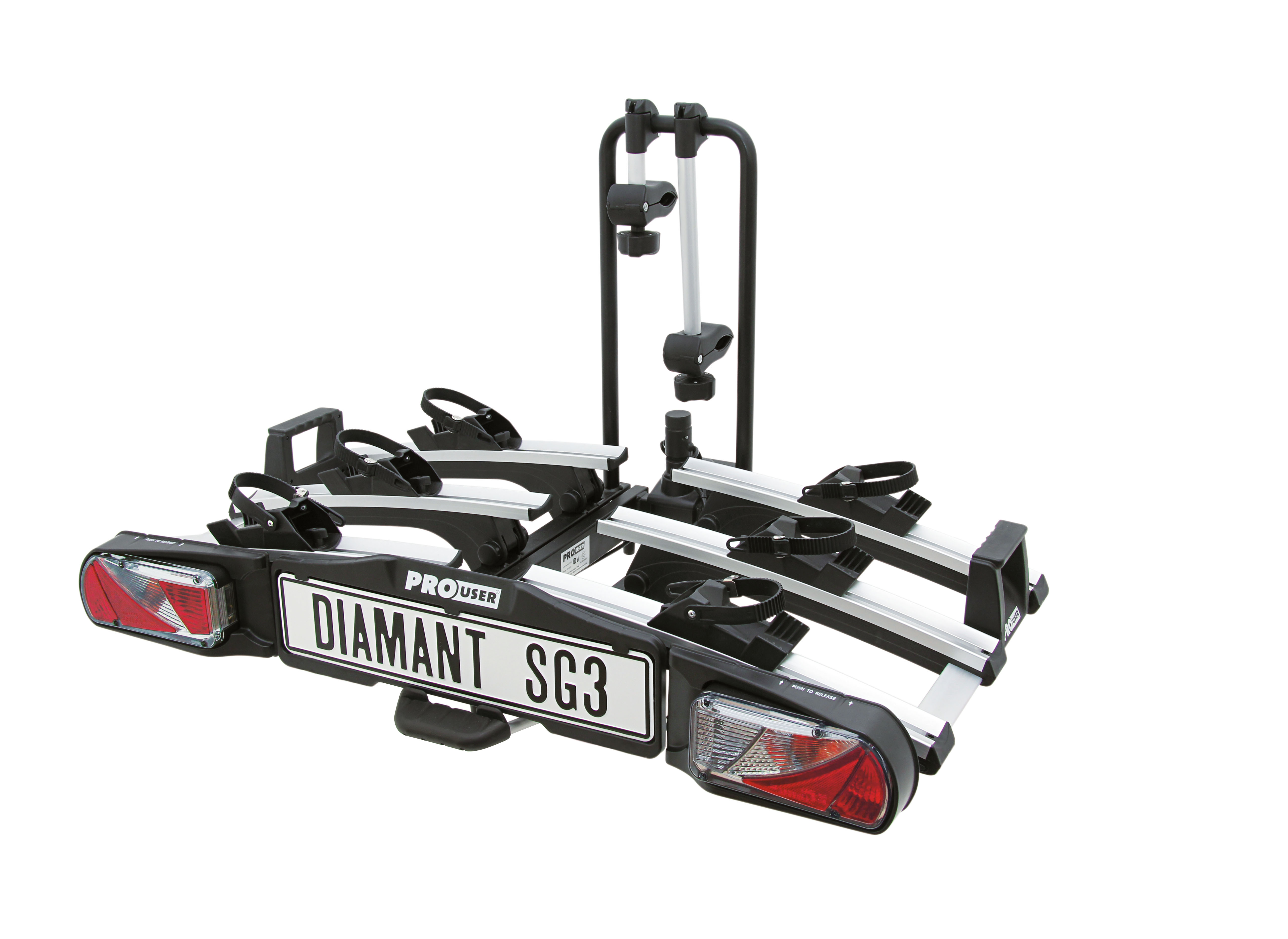 Pro-User Diamant SG3 kerékpárszállító vonóhorogra
