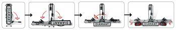Pro-User Diamant II kerékpárszállító vonóhorogra 4.Kép