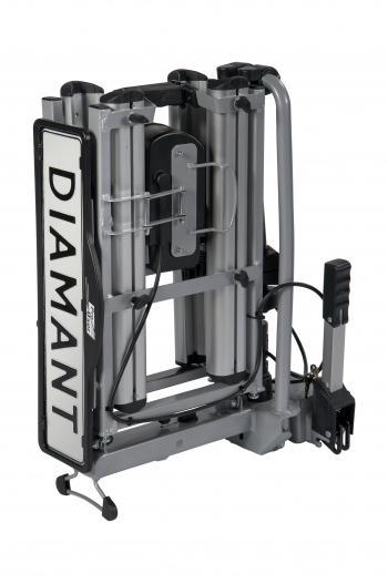 Pro-User Diamant II kerékpárszállító vonóhorogra 5.Kép