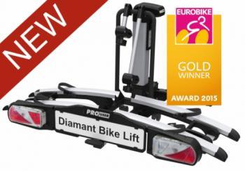Pro-User Diamant Bike Lift kerékpárszállító vonóhorogra elektromos kerékpárokhoz 5.Kép