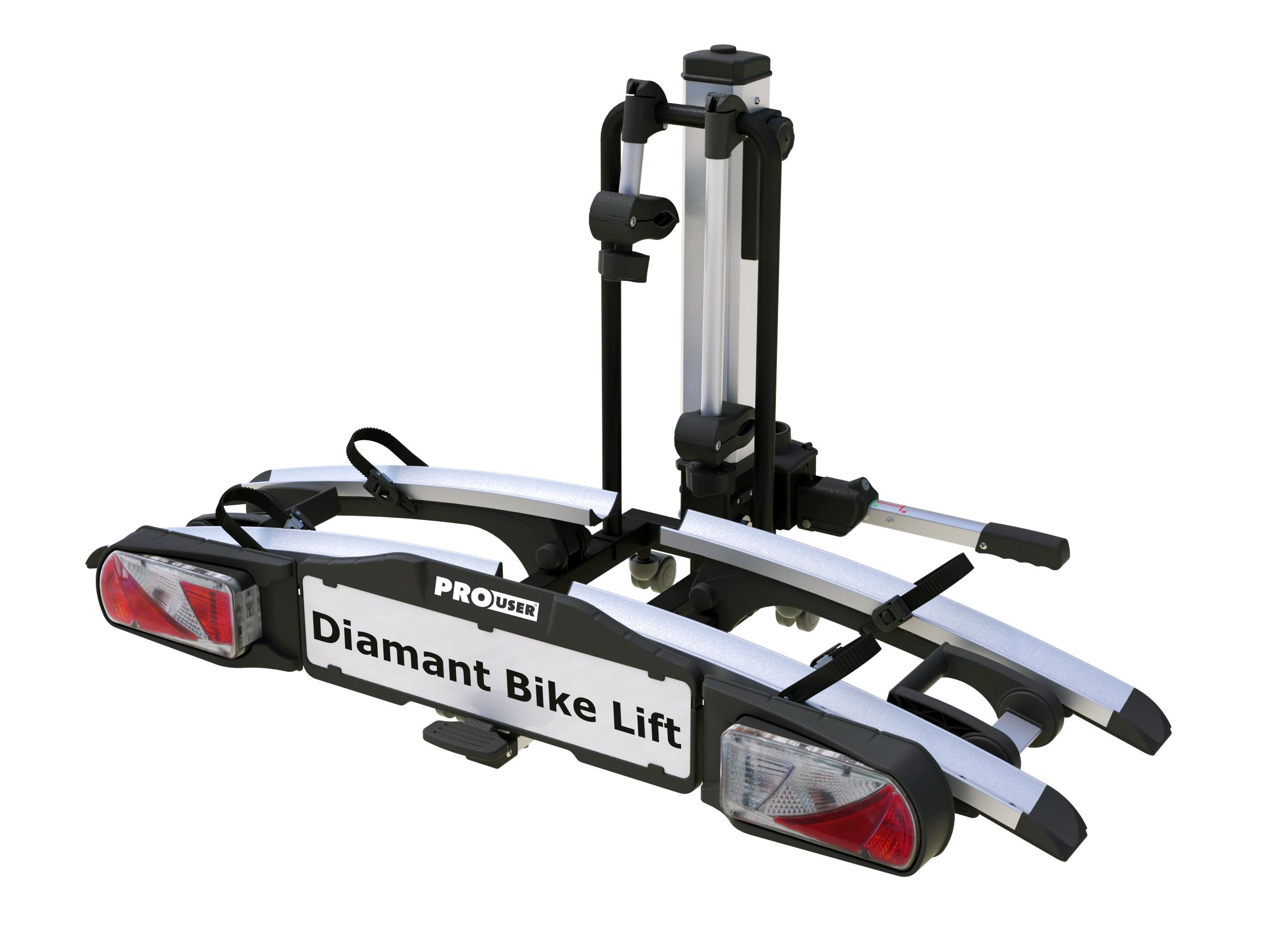 Pro-User Diamant Bike Lift kerékpárszállító vonóhorogra elektromos kerékpárokhoz