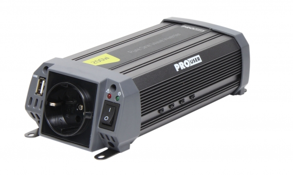 Pro-User PSI200 szinuszos inverter 200/400W