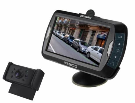 """Pro-User DRC4310 digitális vezeték nélküli tolatókamera rendszer 4,3"""" monitorral"""
