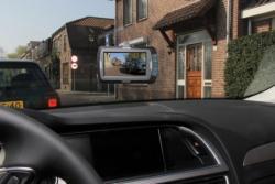 """Pro-User DRC4320N digitális vezeték nélküli tolatókamera rendszer 4,3"""" monitorral, 2 db kamerával 2.Kép"""
