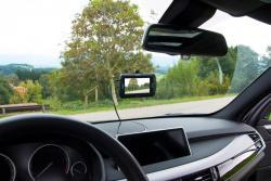 """Pro-User DRC4310DC digitális vezeték nélküli tolatókamera rendszer 4,3"""",  Dashcammel 4.Kép"""