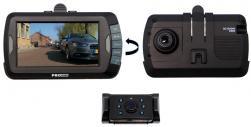 """Pro-User DRC4310DC digitális vezeték nélküli tolatókamera rendszer 4,3"""",  Dashcammel 2.Kép"""