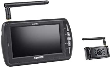 """Pro-User DRC4340 digitális vezeték nélküli tolatókamera rendszer 4,3"""" monitorral, nagyobb hatótávval"""