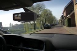 Pro-User APB100 tükörbe integrált vezeték nélküli tolatókamera rendszer 2.Kép