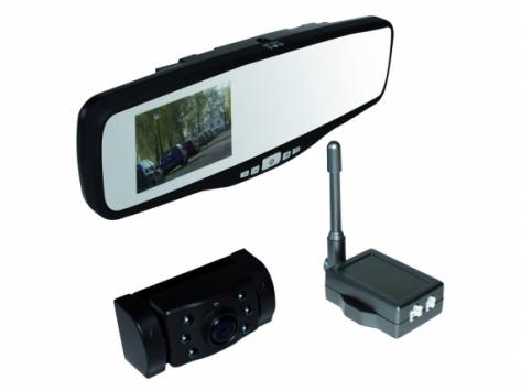 Pro-User APB220 tükörbe integrált vezeték nélküli tolatókamera rendszer #NÉV?