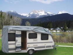 Enduro Caravan XXL lakókocsi takaróponyva (750x250x220 cm) 3.Kép