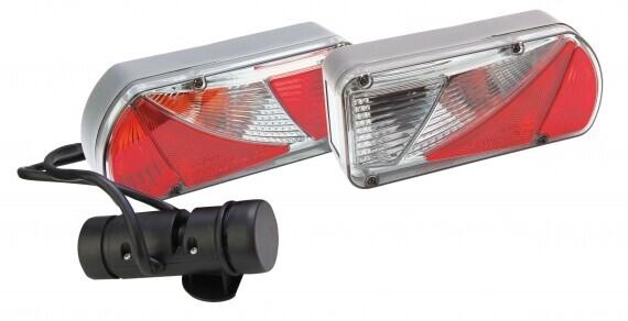Pro-User Ajba wave 5 funkciós hátsó lámpa komplett szett, kábellel, csatlakozóval